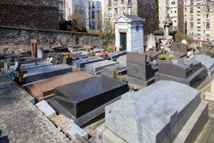 Cimitero urbano Fotografie Stock