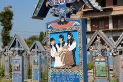 Cimitirul Vesel fotografía de archivo libre de regalías