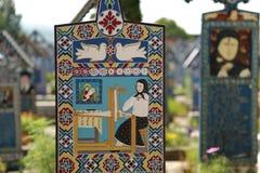 Cimitirul Vesel Fotografie Stock