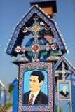 Cimitirul Vesel Fotografia Stock Libera da Diritti