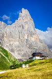 Cimone, alpi delle dolomia, Italia Fotografie Stock
