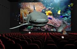 cinéma 3D illustration libre de droits