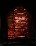 Cinéma au néon Photos libres de droits