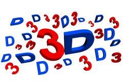 cinéma 3d Image libre de droits