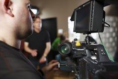 cinéma d'appareil-photo digital Photos stock