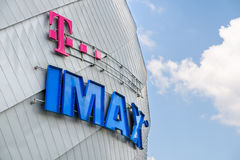 Cinéma d'IMAX Photo stock