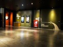 Cinéma de CGV à l'intérieur d'un centre commercial photos libres de droits
