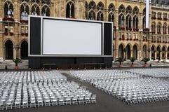 Cinéma extérieur photo libre de droits