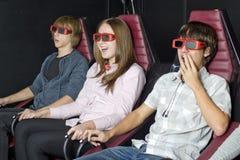 Cinéma intéressant Photographie stock libre de droits