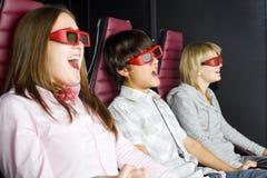 Cinéma intéressant Image stock