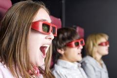 Cinéma intéressant Photos stock