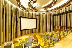 Cinéma privé Images libres de droits