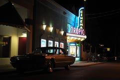 Cinéma tropical, Key West, la Floride Photos libres de droits