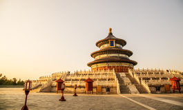 Cina Temple of Heaven Stock Photo