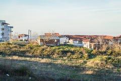 Cinarcik镇乡下-土耳其 免版税库存图片