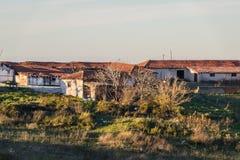 Cinarcik镇乡下-土耳其 库存图片