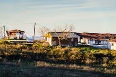 Cinarcik镇乡下-土耳其 免版税图库摄影