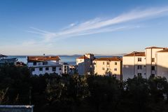 Cinarcik-Stadtlandschaft - die Türkei Stockbilder