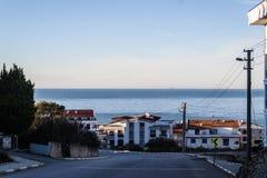 Cinarcik-Stadtlandschaft - die Türkei Lizenzfreie Stockbilder
