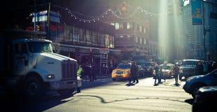 cinatown New York Royaltyfri Bild