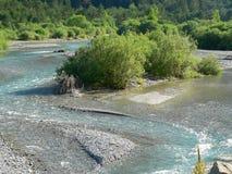 Cinca river, Huesca ( Spain ) Stock Photography