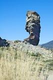 cinchado roque西班牙tenerife 免版税库存图片