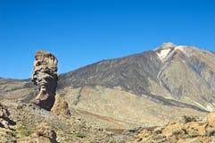 cinchado roque Spain Tenerife Obrazy Stock