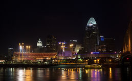 Cincinatti skyline Royalty Free Stock Photo