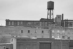 Cincinnati abandonada imagenes de archivo