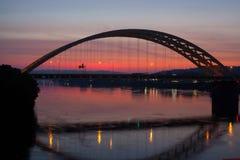 Cincinnati-Brücke Lizenzfreies Stockbild
