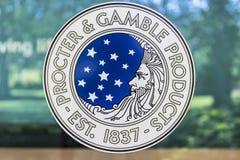Cincinnati - circa mayo de 2017: Original Corporate Logo de Procter & Gamble P&G es un Multinational americano Consumer Goods Com Fotografía de archivo libre de regalías