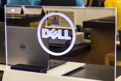 Cincinnati - Circa Mei 2017: Dell Technologies Display en Embleem Dell met het EMC Bedrijf in 2016 I wordt samengevoegd die Royalty-vrije Stock Fotografie