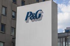 Cincinnati - Circa Mei 2017: Procter & Gok Collectief Hoofdkwartier P&G is een Amerikaans Multinationaal Consumptiegoederenbedrij stock foto's