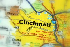 Cincinnati, Ohia - United States U.S. Cincinnati, city in the U.S. state of Ohio stock photo