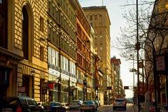 Cincinnati cuarta del oeste Fotografía de archivo libre de regalías