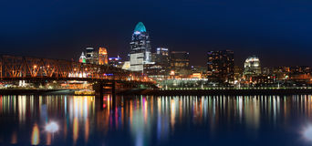 Downtown Cincinnati Stock Photography