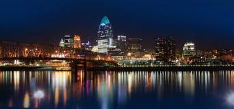 Downtown Cincinnati Stock Photography