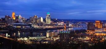 Cincinnati e Kentucky do norte Imagens de Stock