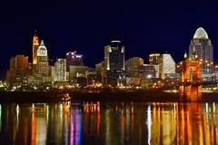 Cincinnati horisont 6675 Fotografering för Bildbyråer
