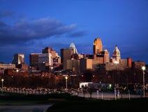 Cincinnati linia horyzontu zdjęcie royalty free