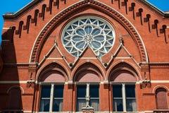 Cincinnati Music Hall. CINCINNATI - JULY 12: A close-up of Cincinnati Music Hall in Cincinnati on July 12, 2013. Cincinnati Music Hall is a national historic royalty free stock photography