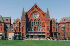 Cincinnati Music Hall. The musical hall built in 1878 is home to the Cincinnati Symphony Orchestra, the Cincinnati Pops Orchestra, the Cincinnati Ballet and the Royalty Free Stock Photography
