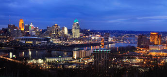 Cincinnati And Northern Kentucky stock images