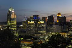 Cincinnati, Ohio Stock Photo