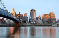 Free Cincinnati, Ohio Skyline. Stock Photography - 9886562