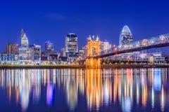 Cincinnati, Ohio, usa fotografia royalty free