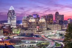 Cincinnati, Ohio, USA Stock Photography