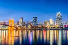 Cincinnati, Ohio, USA Skyline Royalty Free Stock Photography