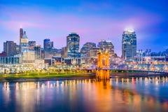 Cincinnati, Ohio, USA Skyline Stock Image