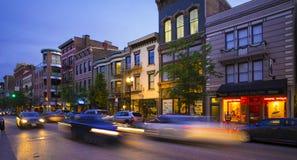 Cincinnati ohio vine st royalty free stock photos